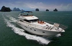 Princess 65 Isabella Rose available for day and week charters on Phuket